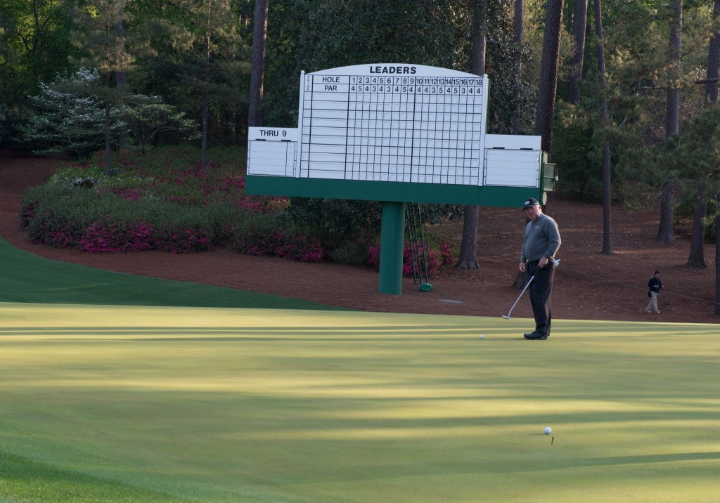The Masters - Wednesday - 2014-9